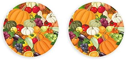 Abridor de botellas de vector de frutas y verduras sin costuras, abridor de botellas de metal de 2 piezas, imanes de nevera