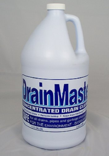 DrainMaster 4 GALLONS/CASE Concentrated Drain Cleaner