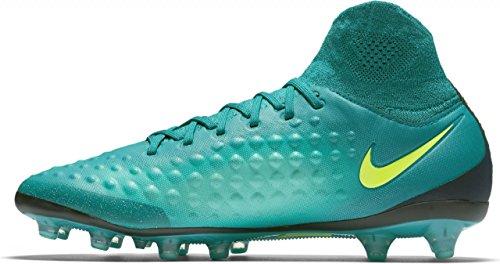 Nike 843811-375, Botas de Fútbol para Hombre Azul (Rio Teal / Volt / Obsidian / Clear Jade)