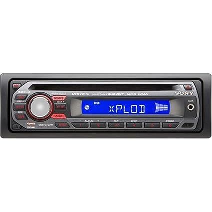 amazon com sony xplod cdx gt22w 208 watts am fm car cd receiver Sony Xplod Wiring Harness Diagram