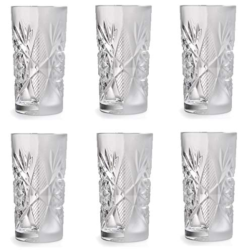 Libbey Hobstar - Vaso de cóctel, Vaso de Agua, Zumo - 470 ml ...
