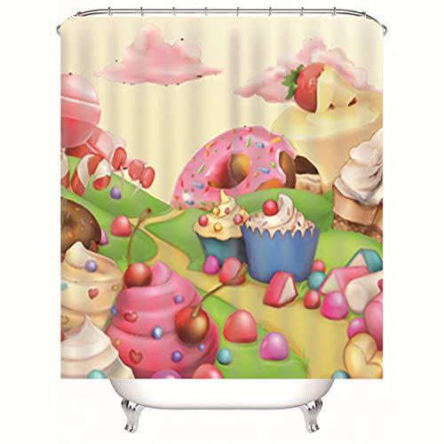 LGXINGLIyidian Fairytale World Cake Road 3D Moho A Prueba De ...