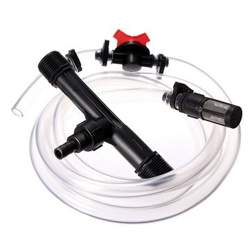Lawn - Inch Irrigation Venturi Fertilizer Injector Device Filter Kit Tube - Scott System Dispenser Hydroponic Diluent Fertilization Liquid Meal Injection Robert Charles - 1PCs