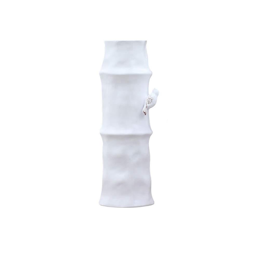 セラミック花瓶用花緑植物結婚式の植木鉢装飾ホームオフィスデスク花瓶花バスケットフロア花瓶 (サイズ さいず : L l) B07R8YTTVV  L l