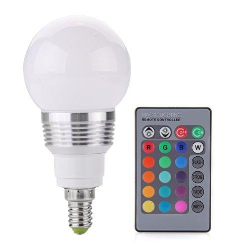 toogoo r e14 ampoule spot led rgb 3w 230v pour maison restaurant telecommande int rieur maison. Black Bedroom Furniture Sets. Home Design Ideas