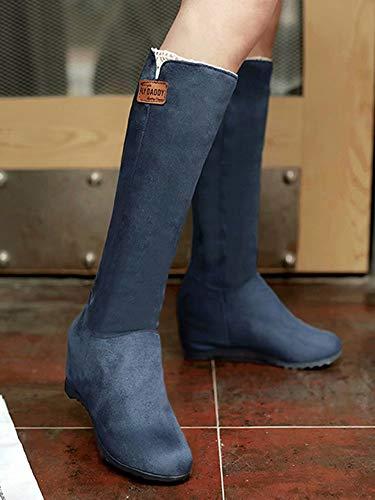 Classic AIYOUMEI Boot Women's Women's Blue AIYOUMEI RzwHCO