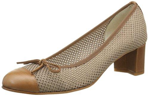 Elizabeth Stuart Nieto 666, Zapatos de Baile Salón para Mujer Marrón