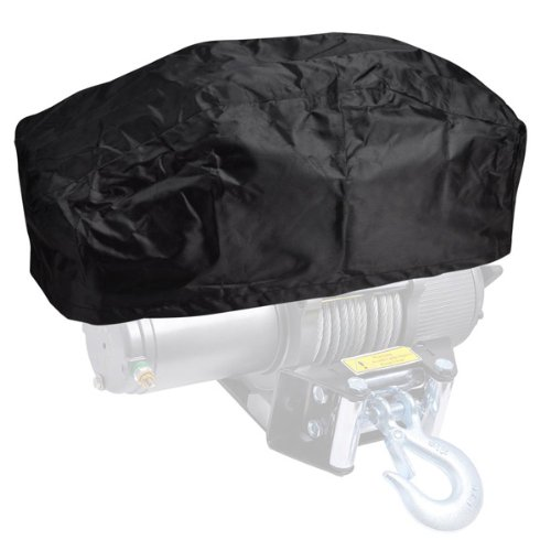 Brand New 420D Oxford Waterproof Winch Cover - Fits 5000-13000 LB 999 Mega USA 9M-33WDC001-5K13K-06