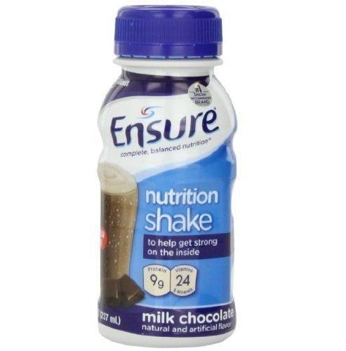 Ensure Bottles, Milk Chocolate, 8-Ounces, 48 x 8-fl-oz Bottles by Ensure