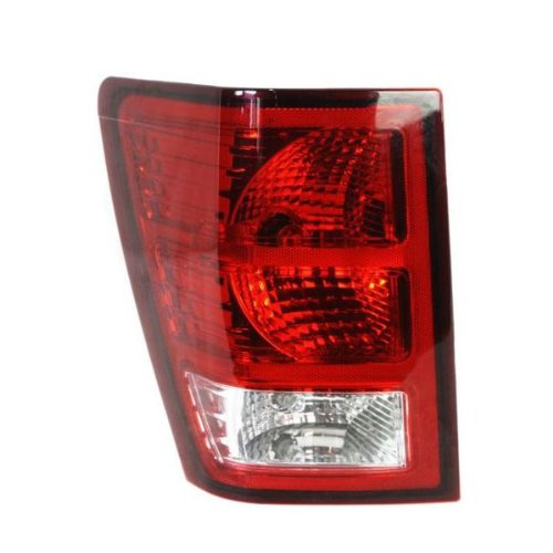 JEEP GRAND CHEROKEE TAIL LIGHT LEFT (DRIVER SIDE) (2 BULB) 2007-2009