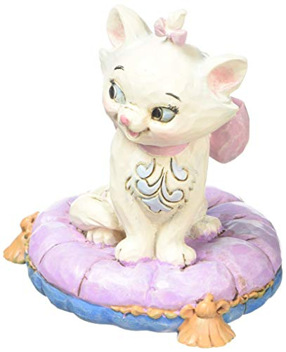 Enesco Disney Traditions by Jim Shore Aristocats Marie Miniature Figurine, 2.875