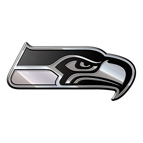 NFL Seattle Seahawks Premium Metal Auto Emblem (Gift Delivery Seattle)