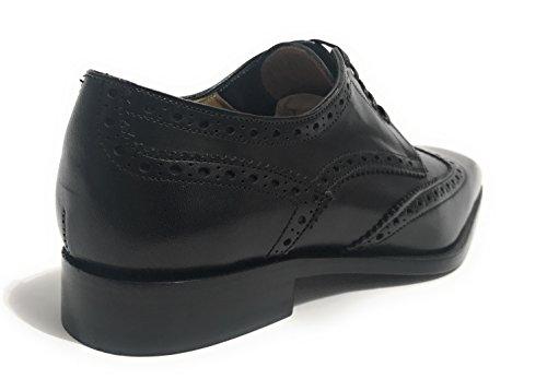 Ben.ter (scarpe Artigianali) Mannen Lace Up Brogues Zwart Zwart