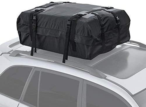 Motor Trend RC200 Rooftop Cargo Carrier Bag – Heavy-Duty Waterproof Design, High Capacity for Top of Vehicle Roof Car, Truck, Van and SUV