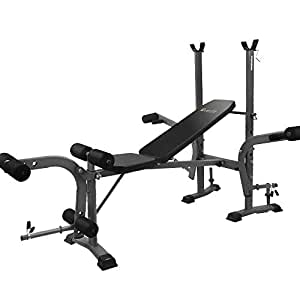 200KG Capacity 7-IN-1 Weight Bench Incline Gym Wotkout Exercise Fitness Adjustable Home Gym Bench Everfit