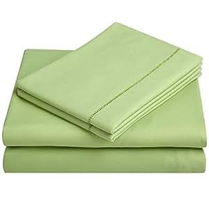 balichun microfiber bed sheet set super soft sheets with 18 inch deep pocket queen. Black Bedroom Furniture Sets. Home Design Ideas