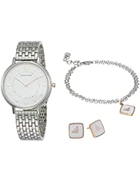 Women's Two-Hand Silver-Tone Stainless Steel Watch AR80023
