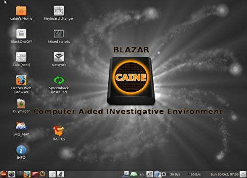 Amazon.com: CAINE Computer Digital Forensics Investigative Environment Linux Live for PCs - Professional Law Enforcement Utilities: Computers & Accessories