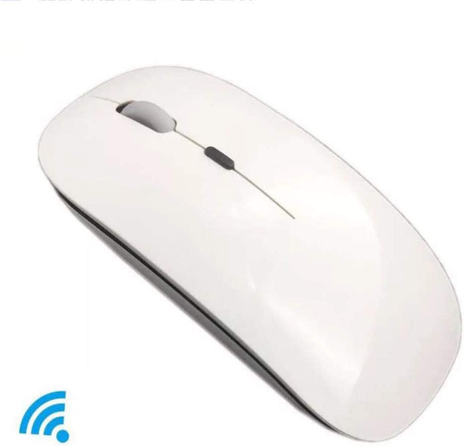 10PCS Mouse Charging Wireless Mouse Optical Wireless Mouse Ergonomics Ultra-Thin Portable ABS Environmentally Friendly Material Black
