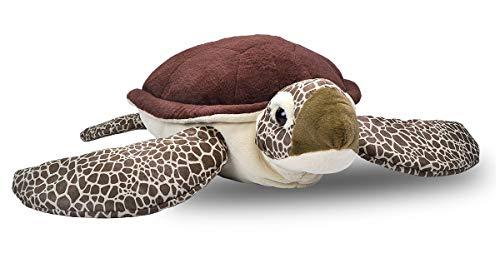 - Wild Republic Jumbo Sea Turtle Plush, Giant Stuffed Animal, Plush Toy, Gifts for Kids, 30 Inches