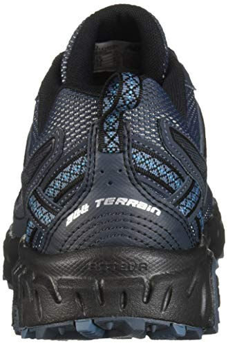New Balance Men's 410v5 Cushioning Trail Running Shoe, Petrol/Cadet/Black, 7.5 D US by New Balance (Image #2)