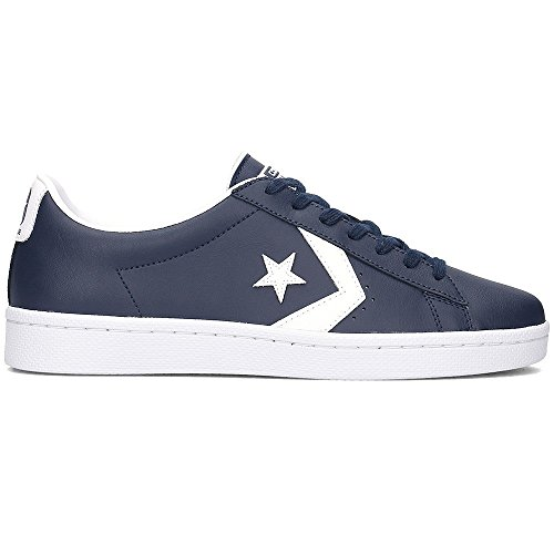 Converse 158088c Homme Sneakers Marine Chaussures Pro Leather Bleu Tumbled rwqxgrCt7