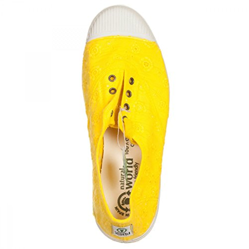 Sneakers NATURAL WORLD GIALLO