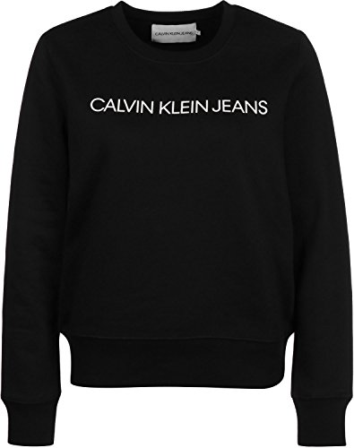 Calvin Nero W Institutional Klein Jeans Sweat Regular rnvr7Cxq