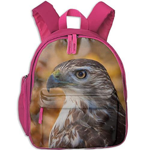 Hawk Profile Backpack for Kids Boys Girls School Laptop Backpack School Bags Rucksack Satchel Hiking - Backpack Girls Hawk For