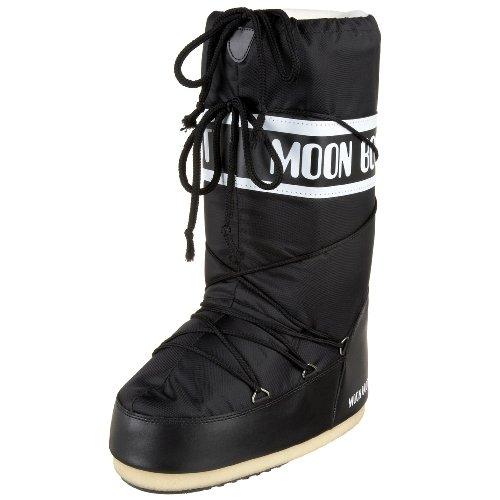 Moon Bottes Enfant Boot Neige Noir Nylon de 001 14004400 Mixte xOPqOwHr