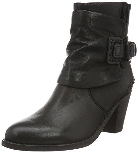 Kennel und Schmenger Schuhmanufaktur Damen Bonnie Kurzschaft Stiefel Schwarz (schwarz/black 230)