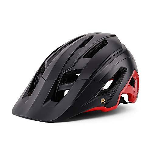 BIKEBOY Bike Helmet, CPSC Safety Certified MTB Cycling Bicycle Helmets Men Women Sports Outdoor Safety Helmet for Road & Mountain, Adjustable Adult Size 22-24 Inches