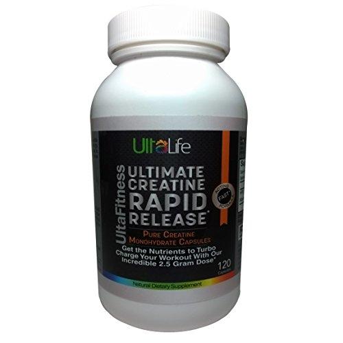 ULTIMATE Creatine Monohydrate Capsules--Rapid Release