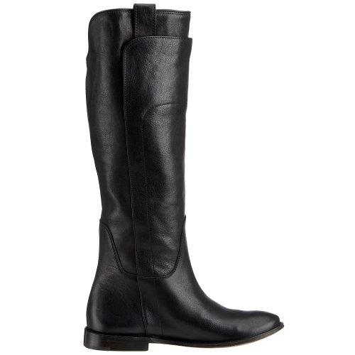 Frye Paige Lang Rijden Dames Ons 5/5 Zwarte Mode Kniehoge Laarzen