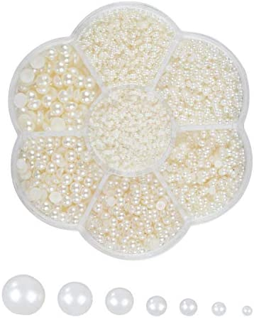 Half Pearls Crafts 16000 Piece Pearl product image