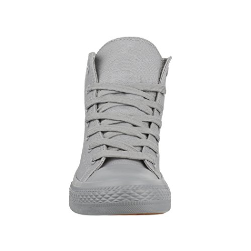 Sneaker Elara Donna Grau One Colour vqawqxHO
