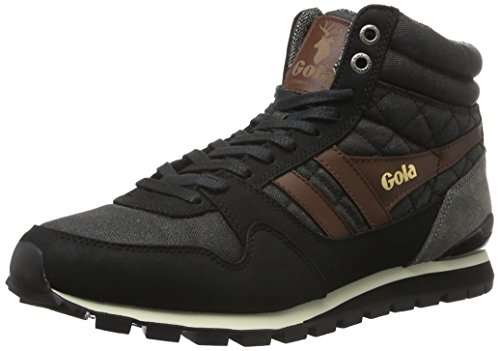 Gola Ridgerunner High CC, Sneaker Alte Uomo Nero (Black)