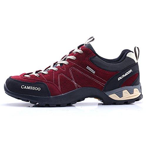 rouge de bajo Unisex caño adulto botas XIGUAFR vineux H8UwYqAw