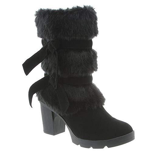 BEARPAW - Womens Bridget Solids Boots, Size: 6 B(M) US, Color: Black Ii