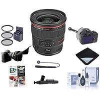 Canon EF 24mm f/1.4L II USM WA Lens Bundle. USA. Value Kit with Acc #2750B002