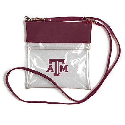 (Desden Texas A & M Aggies Clear Gameday Crossbody Bag)