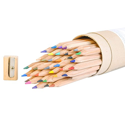 36 Color Colored Pencils Coloring Included
