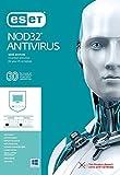 ESET NOD32 Antivirus 2019 / 3 users / 2.5 Year's / Windows PC's / Registration Code- No CD