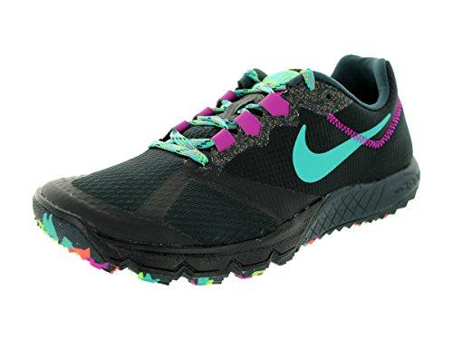 Nike Women's Zoom Wildhorse 2 Blk/Lt Rtr/Clssc Chrcl/Fchs Fl Running Shoe 9 Women US