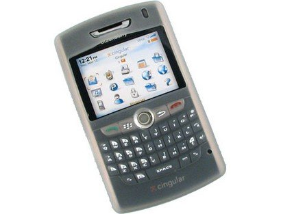 Smoke Protective Silicone Skin Cover Case For BlackBerry 8800 8830