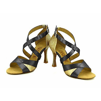 Latino Azul Rojo Tacón Personalizado Salsa Blanco Zapatos Morado de Personalizables bronze Amarillo baile Rosa Negro q70zpStO