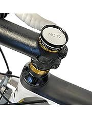 NC-17 4112 Connect AirBox Mount | Cykelfäste med stöldskydd för Apple AirTag | Endast för cyklar med A-headset, svart, universell storlek