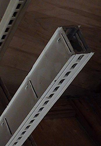 Gondola Shelf Divider Fence Chrome Lozier Madix USA Made 11''L x 6''H Lot of 50 NEW by OEM (Image #3)