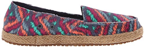 Sanuk Women's Funky Fiona Flat Slate Blue Zig Zag outlet huge surprise cheap recommend 2014 new cheap price discount 100% original IOZoJ2
