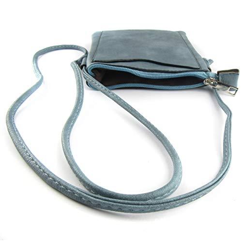 pour Maximum Medidas Zisla Sac à 19 15 3 Cm Ancho bleu femmes; Base 50 Cm bandoulière HIxYwqx
